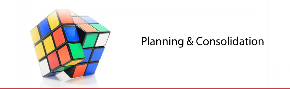 Planning and Consolidation