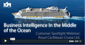 oracle bi 11g obiee at royal caribbean