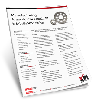 Info Sheet Manufacturing Analytics