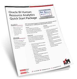 HR Analytics Quick Start