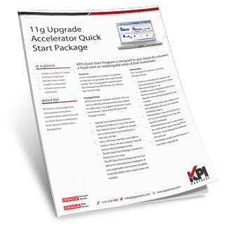 OBIEE 11g Upgrade Accelerator