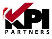 KPI Holiday Hat Logo