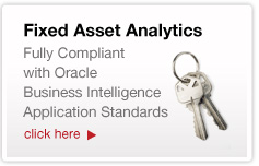 Fixed Asset Analytics for Oracle BI