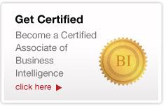Get Certified in BI
