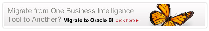 Migrate to Oracle BI