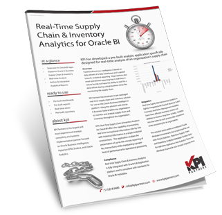 Real Time Inventory Reporting Oracle