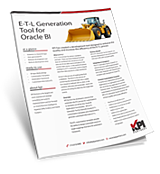 Informatica ETL Generation Tool