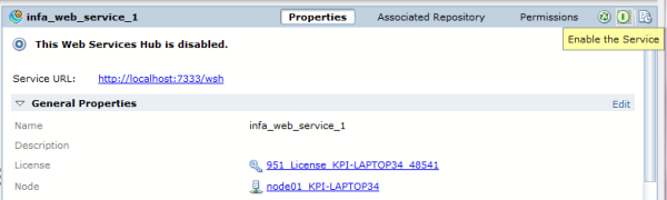 Accessing Informatica Web Services from 3rd Party Apps