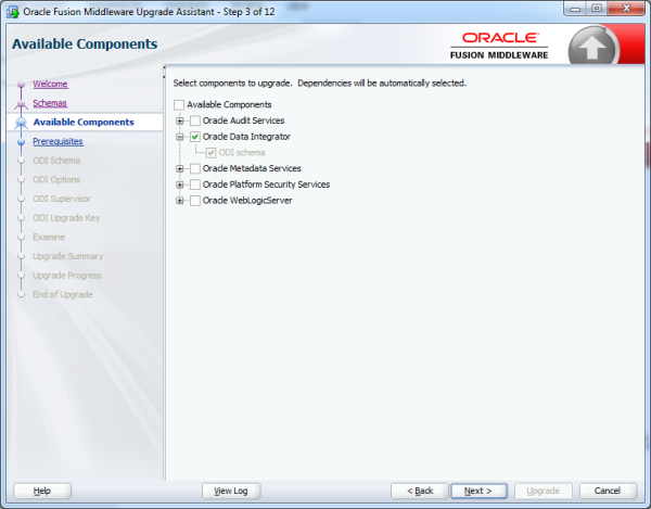Upgrade repository from ODI 11g to ODI 12C image4 resized 600