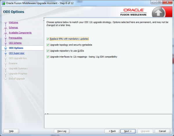 Upgrade repository from ODI 11g to ODI 12C image7 resized 600