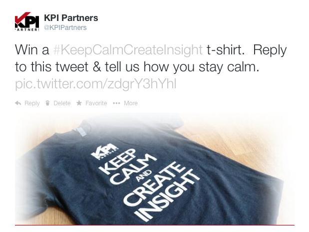 tweet keepcalm