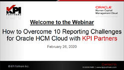 How to Overcome 10 Reporting Challenges for Oracle HCM Cloud-youtube