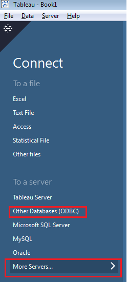 Oracle BI Server Connectivity with Tableau (Part 1)