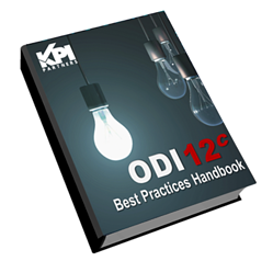 ODI 12c Best Practices