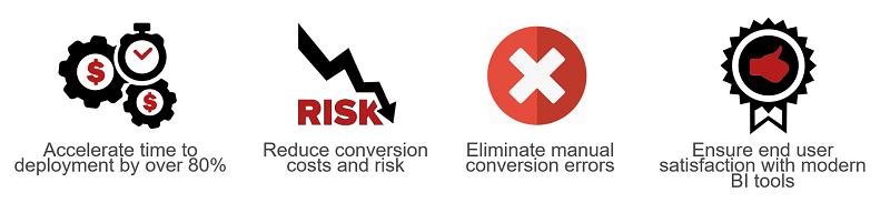 BI Report Conversion Advantages