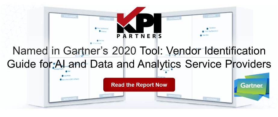 KPI Partners named in Gartner research as a Data and Analytics Service Provider