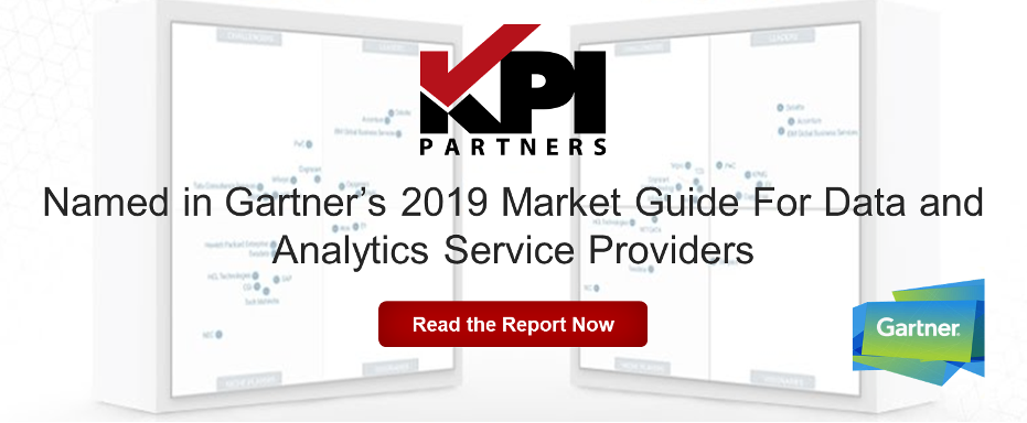 KPI Partners named in the June 2019 Gartner Market Guide for Data and Analytics Service Providers