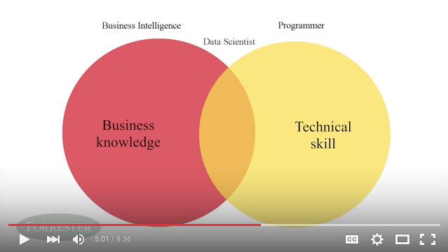 Forrester Research - I'm A Data Scientist Video