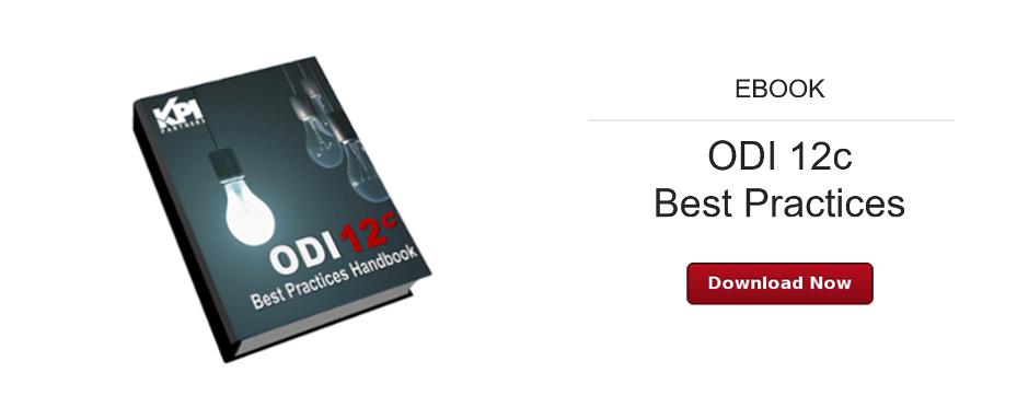 ODI 12c Best Practices